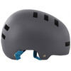 bluegrass Super Bold Dirt-Helmet matt gray/cyan